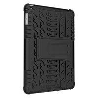 Band Profil Abdeckung Griff Ständer TPU Kunststoff iPad Mini 4 5 Hülle - Schwarz