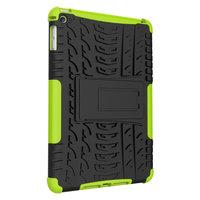 Reifenprofilabdeckung Griffständer TPU Kunststoff iPad mini 4 5 Hülle - Grün