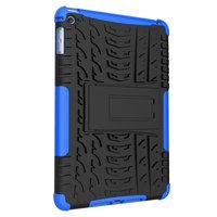 Reifenprofilabdeckung Griffständer TPU Kunststoff iPad mini 4 5 Hülle - Blau