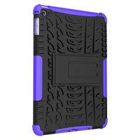 Reifenprofilabdeckung Griffständer TPU Kunststoff iPad mini 4 5 Hülle - Lila
