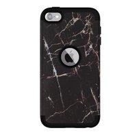 Armor Case Anti-Staub-Marmor iPod Touch 5 6 7 - Schwarzer Marmor