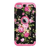 Rüstung Blumenetui iPod Touch 5 6 7 - Bunte Blumen