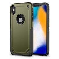 ProArmor Schutzhülle Schutz iPhone XS Max Hülle - Grüne Armee