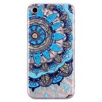 Mandala Diamond Look Hülle iPhone 7 8 SE 2020 - Blau