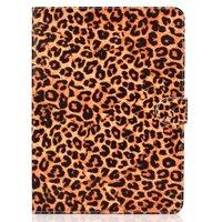 Panther Print iPad Pro 11-Zoll 2018 Etuis Hülle Leder Brieftasche Brieftasche - Brown Leopard
