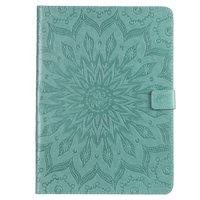 Sonnenblume Leder iPad Pro 11-Zoll-2018 Fall Cover Wallet - Grün
