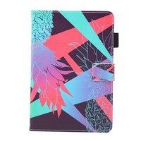 Ananas bunte Flip Case Leder Flip Cover iPad Mini 1 2 3 4 5 - Hellblau Pink Lila
