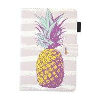 Ananas Ananas Flip Case Leder Flip Cover iPad Mini 1 2 3 4 5 - Hellrosa Weiss