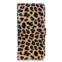 Leopard Fall Panther Brieftasche Bücherregal iPhone 11 Pro - Brown