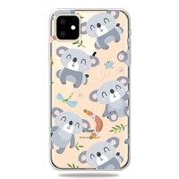 Niedliche flexible Koala Hülle iPhone 11 TPU Hülle - Klar