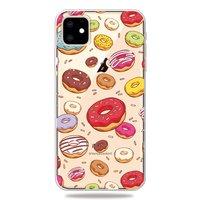 Fröhliche flexible Donuts Hülle iPhone 11 TPU Hülle - Transparent