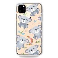Niedliche flexible Koala Hülle iPhone 11 Pro TPU Hülle - Klar