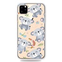 Niedliche flexible Koala Hülle iPhone 11 Pro Max TPU Hülle - Klar