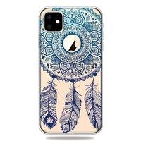 Dreamcatcher Mandala Web Blue Feathers Spirituelle Hülle iPhone 11 TPU Hülle - Klar