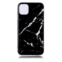 Marmor Muster Naturstein Schwarz Fall Fall iPhone 11
