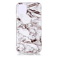 Marmor Muster Naturstein Weiß Hülle iPhone 11 Hülle