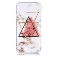 Marmormuster Dreieck Gold Pink Schwarz Figur Kreative iPhone 11 Pro TPU Hülle