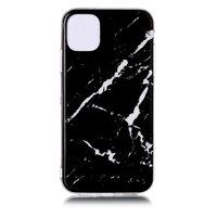 Marmormuster Naturstein Schwarz Fall Fall iPhone 11 Pro