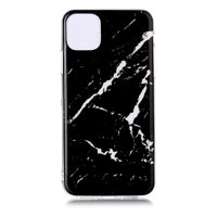Marmor Muster Naturstein Schwarz Fall Fall iPhone 11 Pro max