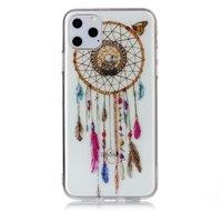Dreamcatcher Mandala Web Perlen Farbe Spirituelle Hülle TPU iPhone 11 Pro Max - Transparent