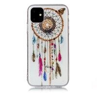 Dreamcatcher Mandala Web Perlen Farbe Spiritual Case Fall TPU iPhone 11 - Transparent