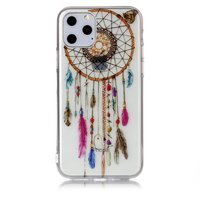 Dreamcatcher Mandala Web Perlen Farbe Spirituelle Hülle TPU iPhone 11 Pro - Transparent