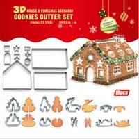 Cookie House 18-teiliges Ausstecher-Set - Weihnachtsgeschenk für Sinterklaas-Schuhe