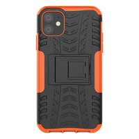 Hybrid Standardgehäuse stoßfeste Abdeckung iPhone 11 - Orange
