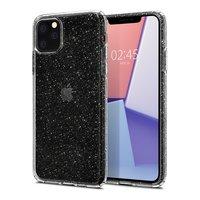 Spigen Liquid Crystal Hülle Schutzhülle dünn TPU iPhone 11 Pro - Transparenter Glitter
