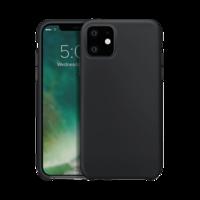 Xqisit Silikonhülle Schutzhülle iPhone 11 - Schwarz
