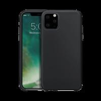 Xqisit Silikonhülle Schutzhülle iPhone 11 Pro Max - Schwarz