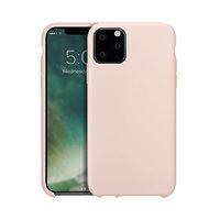 Xqisit Silikonhülle Schutzhülle iPhone 11 Pro Max - Hellrosa