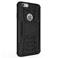 Stoßfeste Schutzhülle iPhone 6 6s Hülle - Schwarz