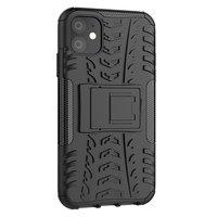 Stoßfeste Schutzhülle iPhone 11 Hülle - Schwarz
