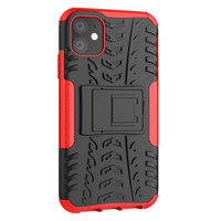 Stoßfeste Schutzhülle iPhone 11 Hülle - Rot
