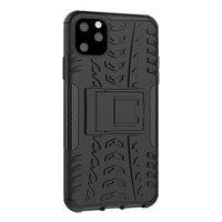 Stoßfeste Schutzhülle iPhone 11 Pro Max Hülle - Schwarz