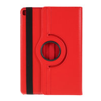 Litchi Texture Leather iPad 10,2 Zoll Hülle mit Abdeckung - Red Protection Standard