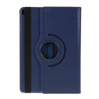 Litchi Texture Leather iPad 10,2 Zoll Hülle mit Abdeckung - Dunkelblauer Schutzstandard