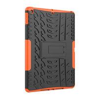 Band Profil Abdeckung Griff Ständer TPU Kunststoff iPad 10,2 Zoll - Orange