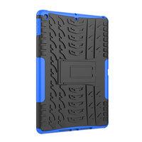 Bandprofil Abdeckung Griff Ständer TPU Kunststoff iPad 10,2 Zoll - Blau