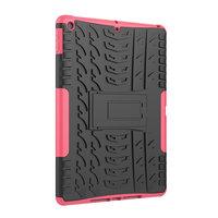 Bandprofil Abdeckung Griff Ständer TPU Kunststoff iPad 10,2 Zoll - Pink
