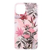 Fall Fall Blüte Blumen Blumen Natur TPU Flexible Stoßdämpfung für iPhone 11 - Pink