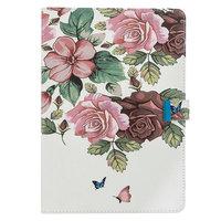 Brieftasche Hülle Fall Floral Nature für iPad Pro 10,5 Zoll, iPad Air 3 10,5 iPad 10,2 - Pink