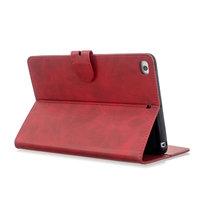 Brieftasche Brieftasche Cover Case Kunstleder mit Ständer für iPad mini 1 2 3 4 5 - 7,9 Zoll - Rot
