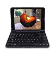 DUX DUCIS Bluetooth-Tastaturhülle iPad mini 4 5 2019 - Schwarze QWERTZ-Hintergrundbeleuchtung