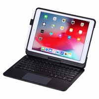 Drehbare Bluetooth-Tastaturhülle iPad 10,2 Zoll - QWERTZ 7 Farben