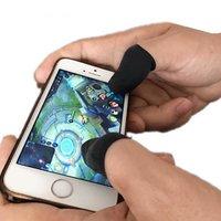 Mobile Gaming Fingergriffe Anti-Rutsch 10 Stück - Schwarz
