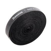 Baseus Klettband 3m - Schwarzer Kabelbinder