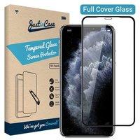 Just in Case gehärteter Glasschutz iPhone 11 Pro - Schwarze Kanten gebogen