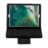 Just in Case Leder Bluetooth Tastatur Fall iPad 9,7 Zoll 2017 2018 - Schwarz